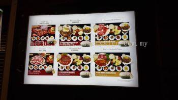 Restaurant Acrylic Lightbox