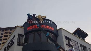 Hotel Fumah Neon Sign