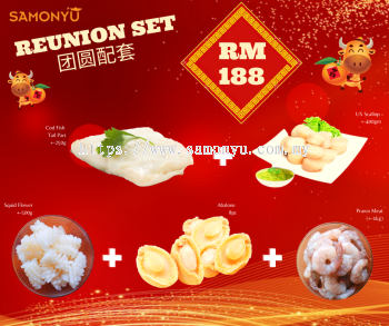 CNY REUNION SET ~ RM188
