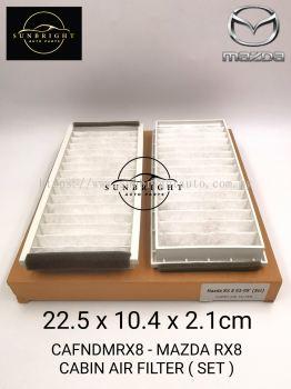 CAFNDMRX8 - MAZDA RX8 CABIN AIR FILTER ( SET )