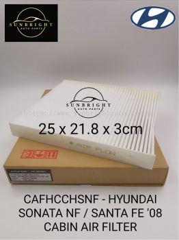 CAFHCCHSNF - HYUNDAI SONATA NF / SANTA FE '08 CABIN AIR FILTER
