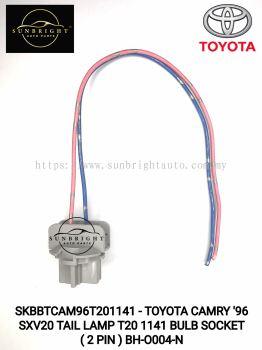 SKBBTCAM96T201141 - TOYOTA CAMRY '96 SXV20 TAIL LAMP T20 1141 BULB SOCKET ( 2 PIN ) BH-O004-N