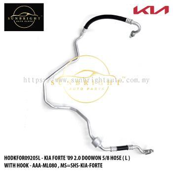 HODKFOR09205L - KIA FORTE '09 2.0 DOOWON 5/8 HOSE ( L ) WITH HOOK - AAA-ML080 , MS=SHS-KIA-FORTE