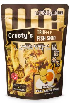 Crusty��s Truffle Salted Egg Fish Skin 30x100g