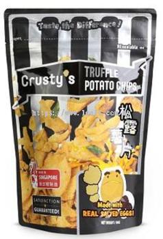 Crusty's Salted Egg Potato Chips Truffle 30x100g