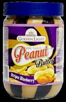 Peanut Butter Stripes �C Blueberry 12x510g