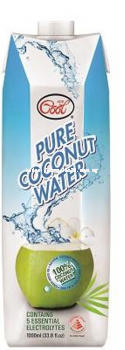 100% Pure Coconut Water 12 x 1Ltr