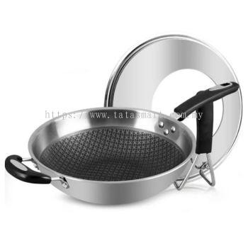 Premium 304 Stainless Steel Non-Stick Pan