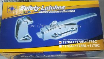 1178A+1178B+1178C - HUB COLD ROOM SAFETY LATCHES & INSIDE RELEASE HANDLES