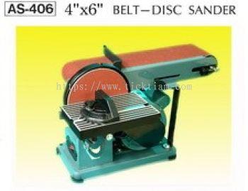 Disc & belt sander AS-406