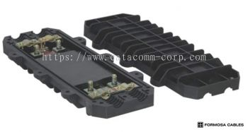 AN-OCJE-(04)-1 Type �C 2 way in | 2 way out outdoor fiber optical joint enclosure, up to 60 cores cap