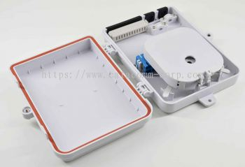 AN-FDB-08D �C 8 port all-in-one FTTH splitter distribution box