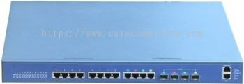 AN-L3-4012TF 12 Port 10-100-1000 Base-T + 4 Port Gigabit SFP Layer 3 Gigabit Switch