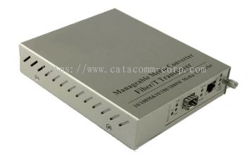 Standalone Managed Fiber Optic Media Converter ( IEEE802.3ah OAM compliant)