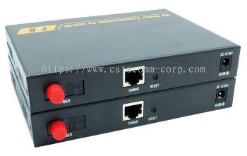 HDMI + Ethernet, Audio & RS-232 over same fiber optic extender
