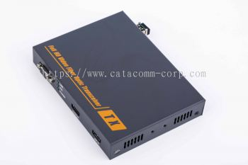 HDMI and RS-232 over Fiber converter