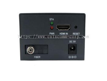 HDMI distance extender via fiber optical cables: HDMI 1.3 & HDCP, 1920*1080@60Hz