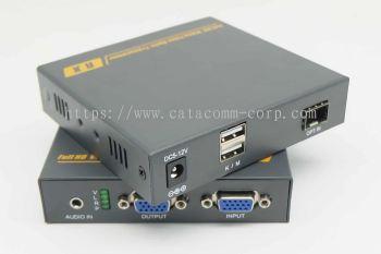 VGA KVM fiber optic extender