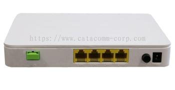 4 x Gigabit Ethernet port GPON ONT