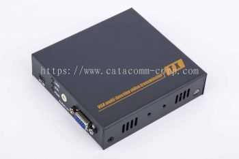 VGA USB KVM over CAT5/CAT6e extender, audio signal support