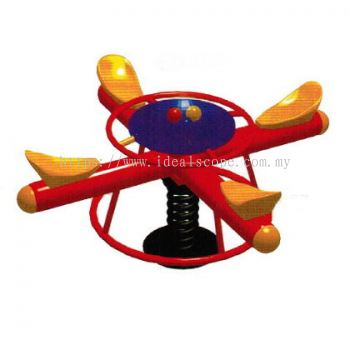4 Seater Cross Mini See Saw