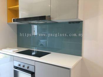 Colour Glass Kitchen