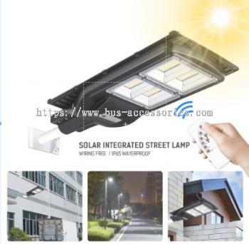 Solar Integrated Street Lamp