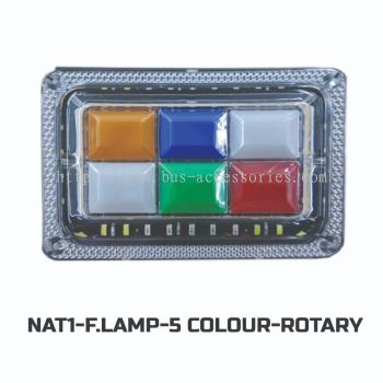 F.LAMP-5COLOR ROTARY