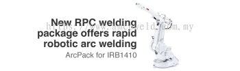 RAPID ROBOTIC ARC WELDING �C IRB 1410