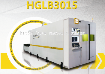 HG HGLB3015 CNC LASER CUTTING MACHINE