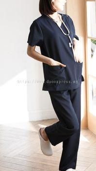 Medical Scrub Suit Set E (2)