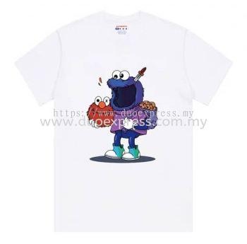 Family Day T Shirt Printing Murah- Silk Screen