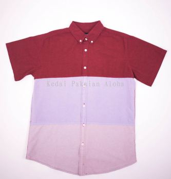 Men's S/S Shirts - Stripes (Red)