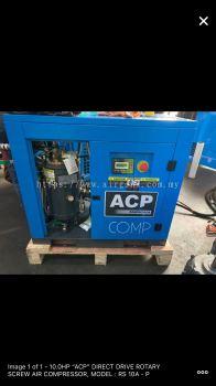 20HP ��ACP�� DIRECT DRIVE ROTARY SCREW AIR COMPRESSOR MODEL : RS20A-P