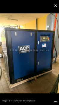 "75HP ""ACP"" PERMANENT MAGNET INVERTER ROTARY SCREW AIR COMPRESSOR, MODEL : RS75E-P"