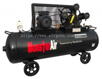 "3HP ""MONSTER AIR"" RECIPROCATING PISTON AIR COMPRESSOR, MODEL : MA30-180HT"