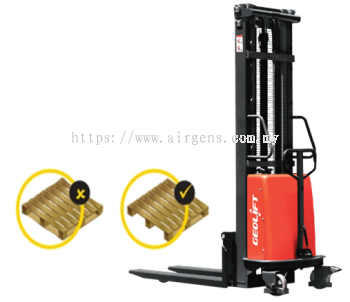 GEOLIFT High Performance Semi Electric Stacker - SPS1016