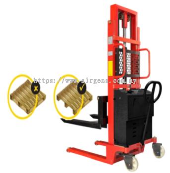 1 ton GEOLIFT Standard Semi Electric Stacker - SPE1030