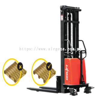 GEOLIFT High Performance Semi Electric Stacker - SPS1035