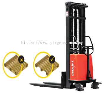 GEOLIFT High Performance Semi Electric Stacker - SPS1516