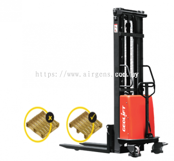 GEOLIFT High Performance Semi Electric Stacker - SPS2016