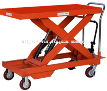 2 tons GEOLIFT Manual Lift Table - LT200 (Double Hydraulic Pump System)