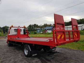 Fully-Loaded Car Carrier