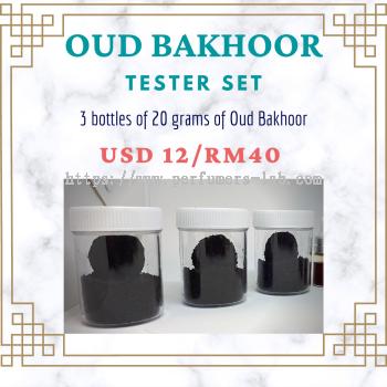 C'Avenir Oud Bakhoor Tester Kit