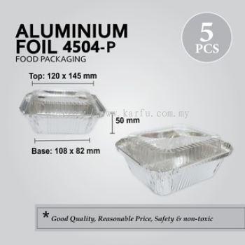4504 ALUMINIUM TRAY WITH LID