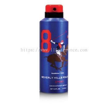 BHPC Deodorant 175ML No.8 (BLUE)