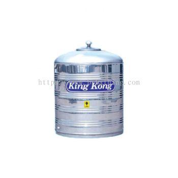 King Kong Stainless Steel Water Tank - HS Vertical Flat Bottom