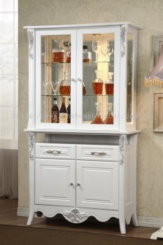 VENICE - 2 DOOR DISPLAY CABINET
