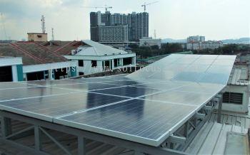 2 x 10 kWp, BIPV (Klang Valley)