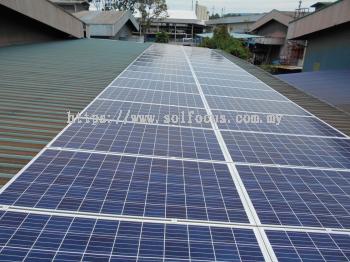 42 kWp, Metal Roof Retrofit (Johor)
